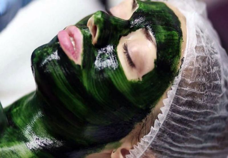 Маска из спирулины для лица помощь уставшей коже