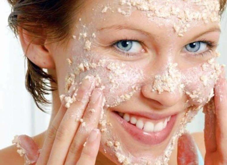 Маска из толокна для лица