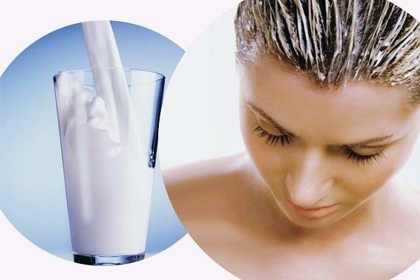 Маски для волос с молоком