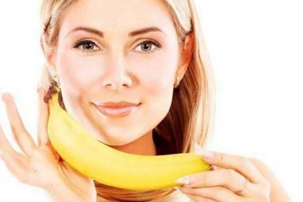маска для лица с бананом