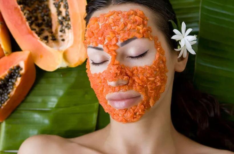 маска из папайи для лица
