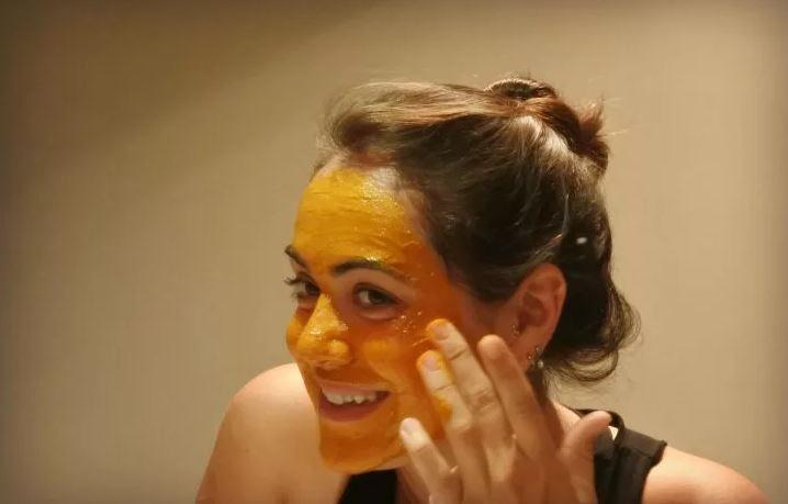 маска из куркумы для лица