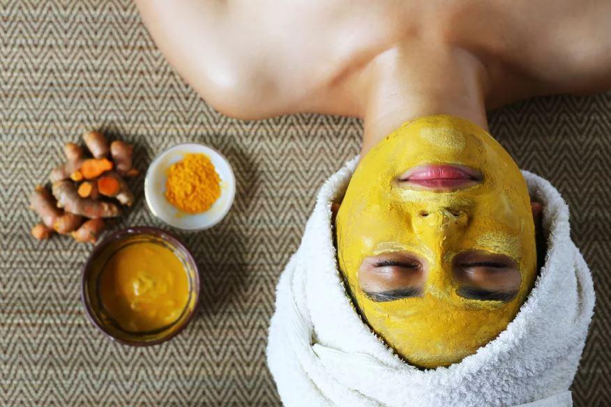 куркума маска для лица в домашних условиях