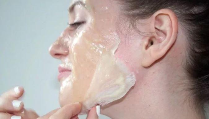 маска для лица с желатином
