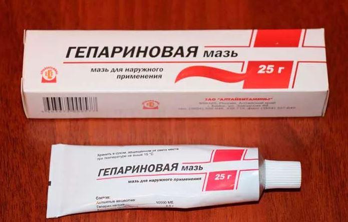 Гепариновая мазь – популярное средство от морщин