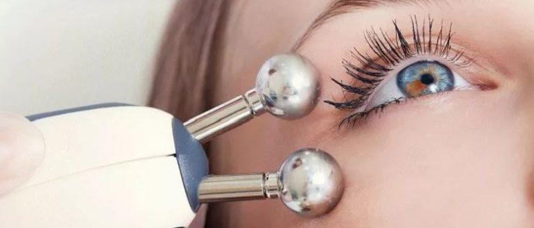 Микротоковый ионизатор от мешков и кругов под глазами